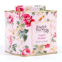 "BIO ""Shabby Chic Floral Tin"" English Breakfaast"