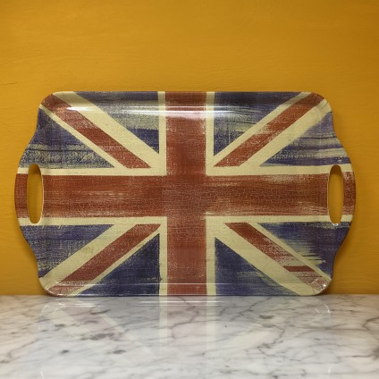 Union Jack grosses Tablett